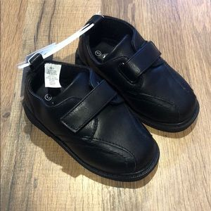 Koala Kids Boy's Toddler Black Dress Shoes NEW
